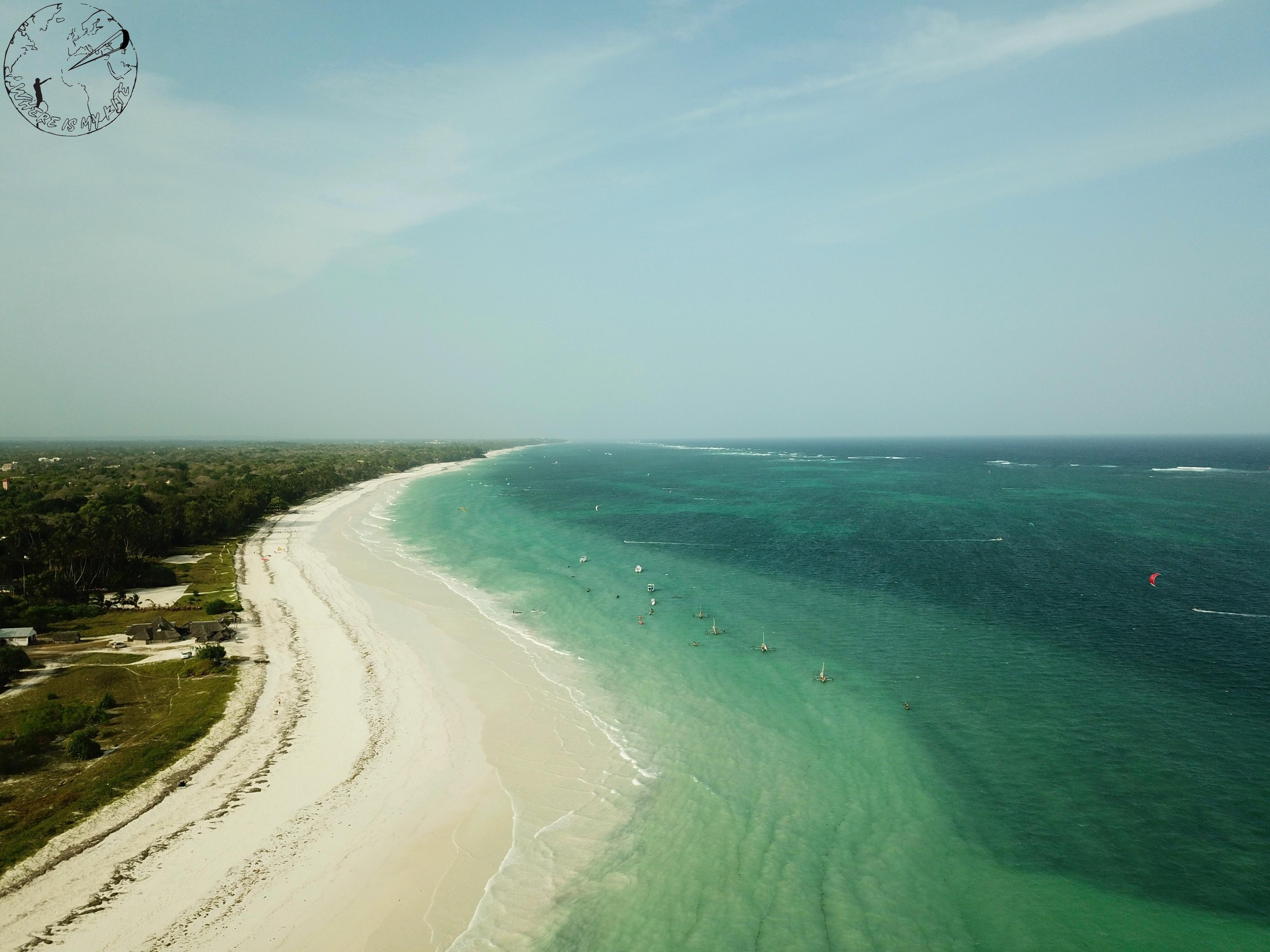 Diani - Galu beach, kitespot
