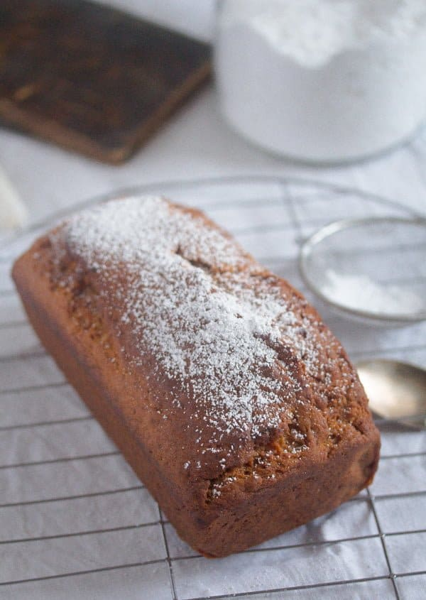 eggless banana cake 5 Eggless Banana Bread – Vegan Bread Recipe