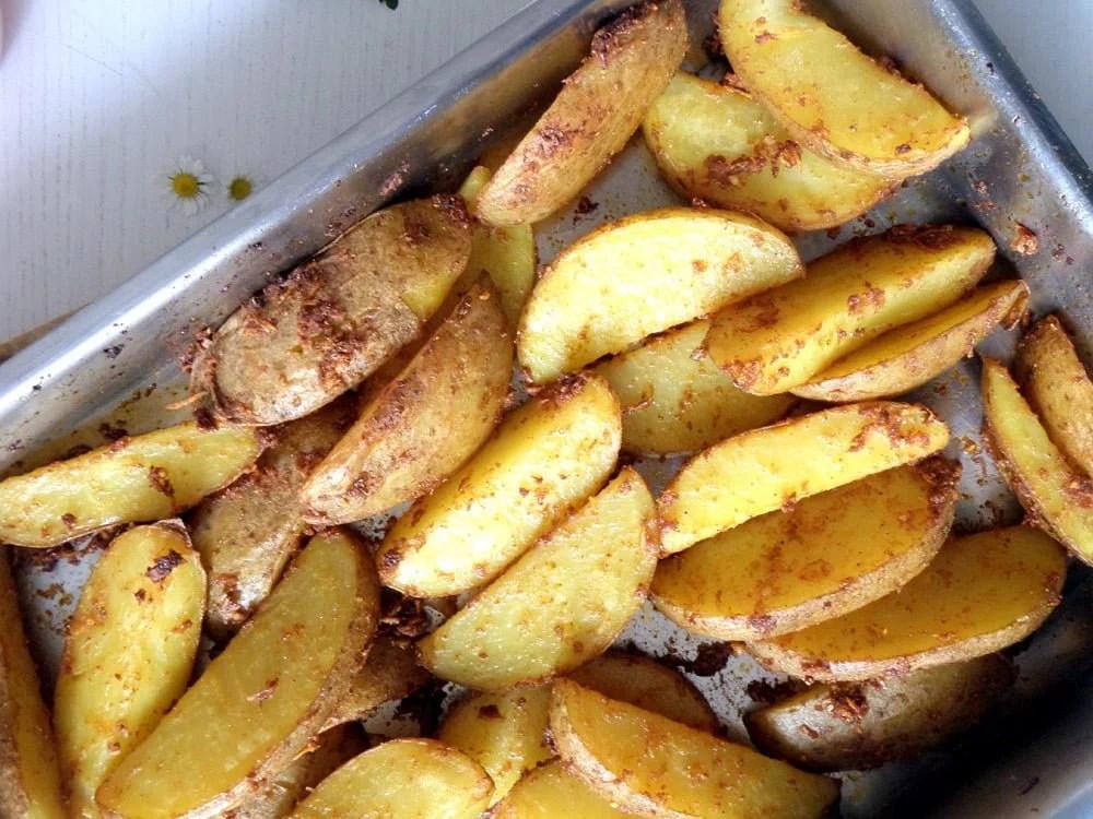 potato wedges sweet chili Potato Wedges with Sweet Chili Sauce