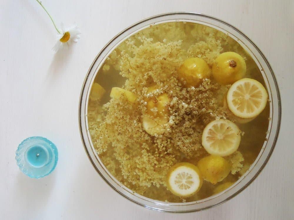 elderflower Homemade Elderflower Syrup or Elderflower Cordial