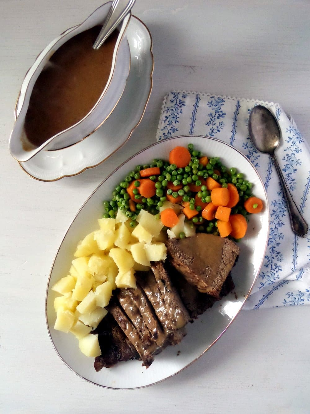 balsamic roast beef sauce Easy Roast Beef with Balsamic Vinegar Sauce