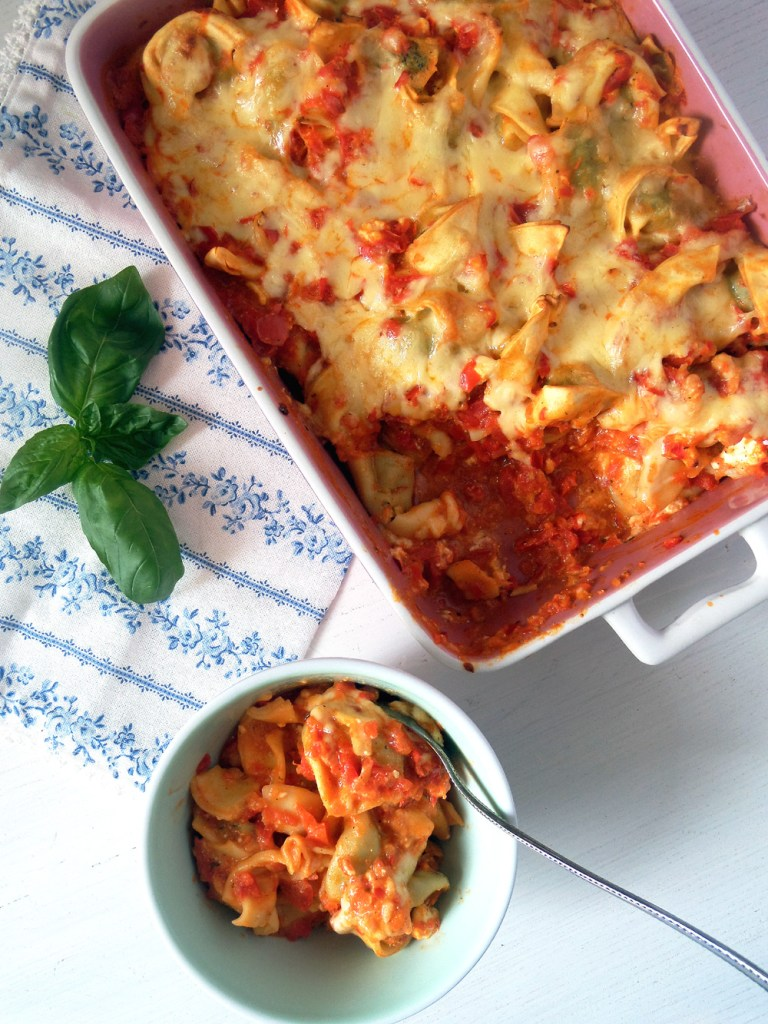 Tortellini Salad With Peas Mushrooms And Feta German Food
