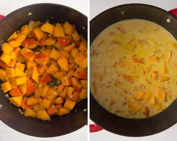 how to make pumpkin pasta sauce Creamy Pumpkin Pasta Sauce with Parmesan and Parsley