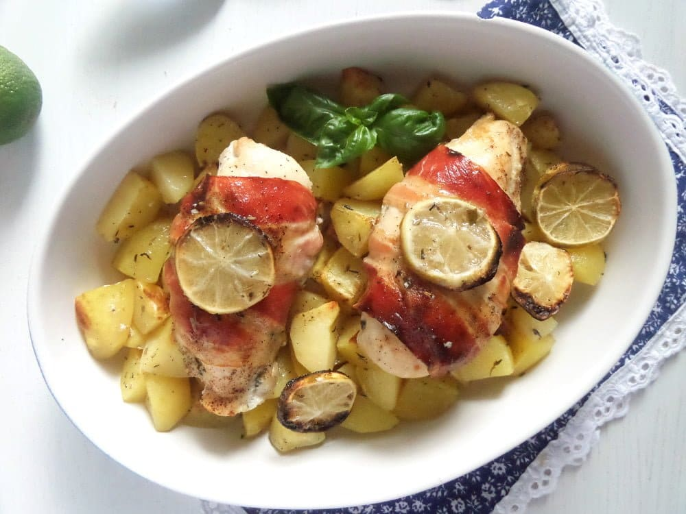 Chicken With Bacon and Herbs
