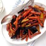 Honey-Glazed Carrots With Tahini Dip - Where Is My Spoon