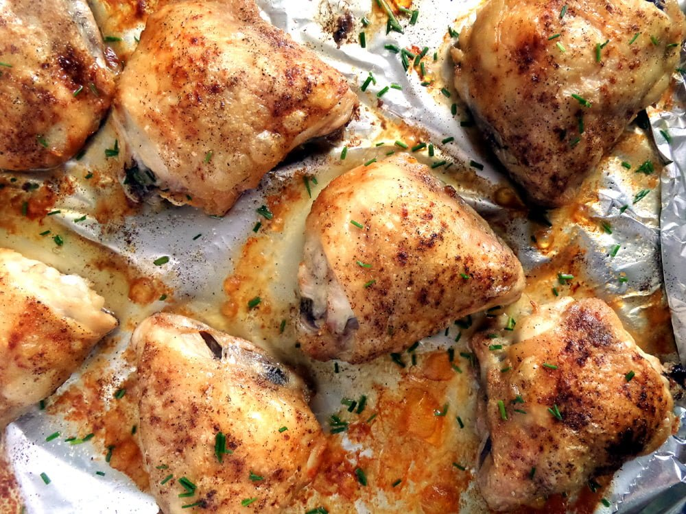 chicken thighs simple Baked Chicken Thighs, Basic Recipe