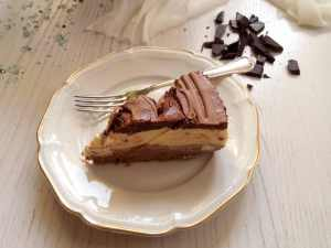 %name chocolate mousse cake slice
