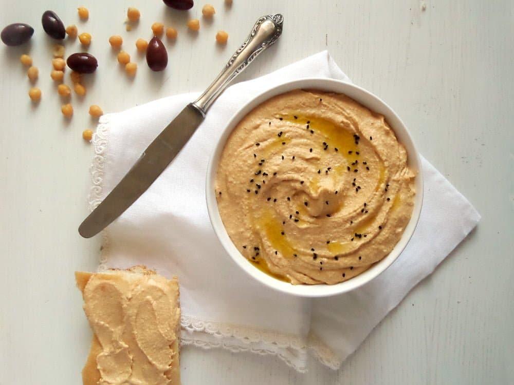 hummus best Best Hummus Ever   Chickpea Tahini Garlic Spread or Dip