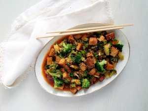 %name tofu broccoli sesame