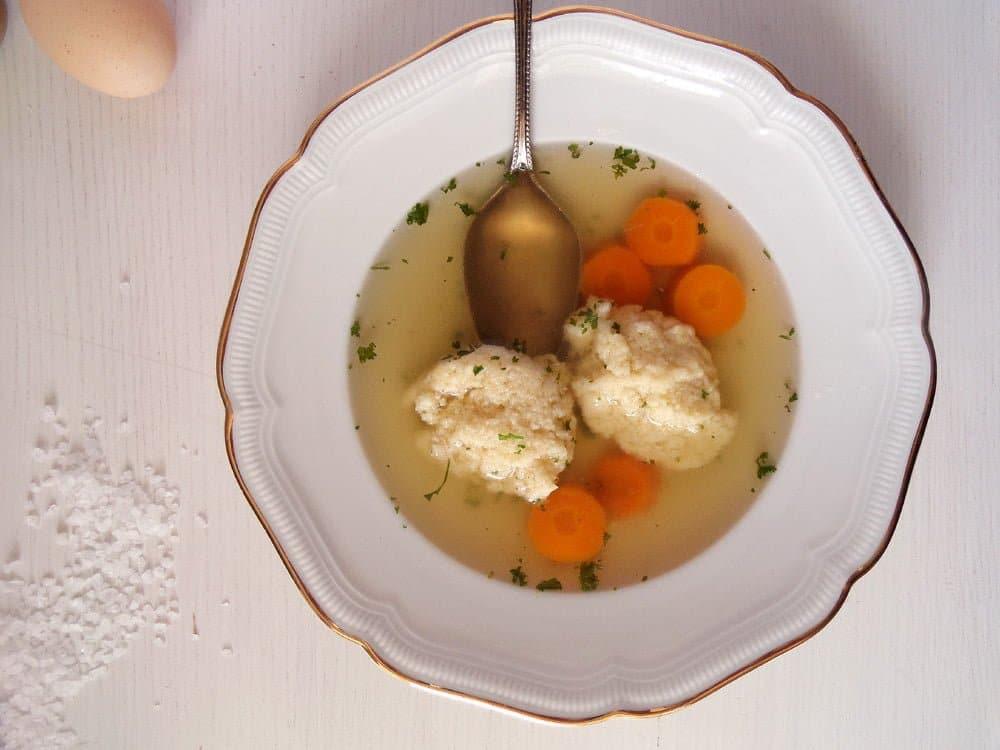 How to Make Chicken Stock and Romanian Semolina Dumpling Soup