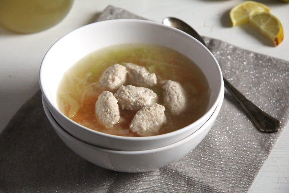fish stock salmon balls How to Make Fish Stock and Fish Soup with Salmon Balls