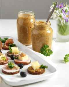 %name mustard canapes homemade