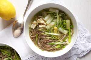 %name asparagus chicken soup