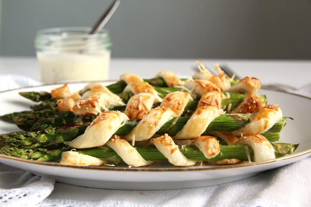 asparagus pastry Cream Cheese Stuffed Vegetables