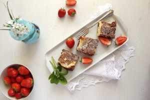 %name marbled cheesecake chocolat