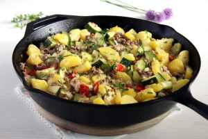 %name Zucchini Beef Skillet