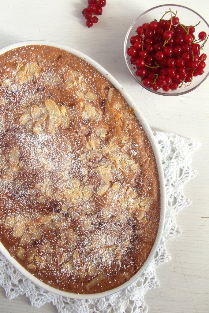 red currants cake 683x1024 Red Currant Casserole Cake