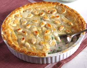 %name chicken peas ham pie