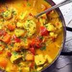 Pumpkin Turkey Curry