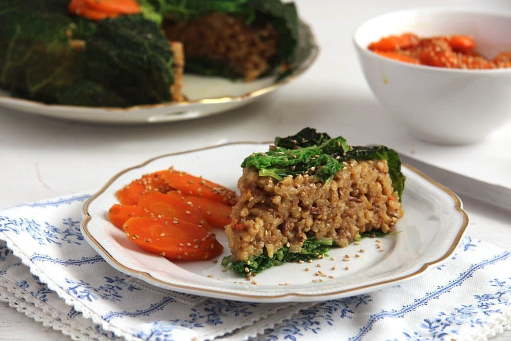 risotto cake savoy Romanian Vegan Vegetable Rice or Pilaf