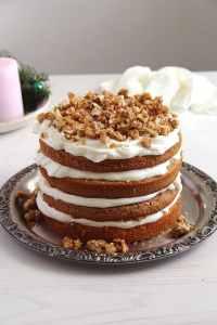 %name walnut cake caramelized
