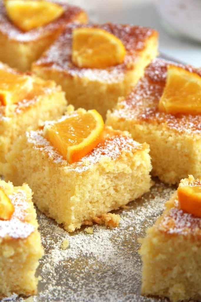 polenta cake romanian 683x1024 Moist Polenta Orange Cake – Malai dulce