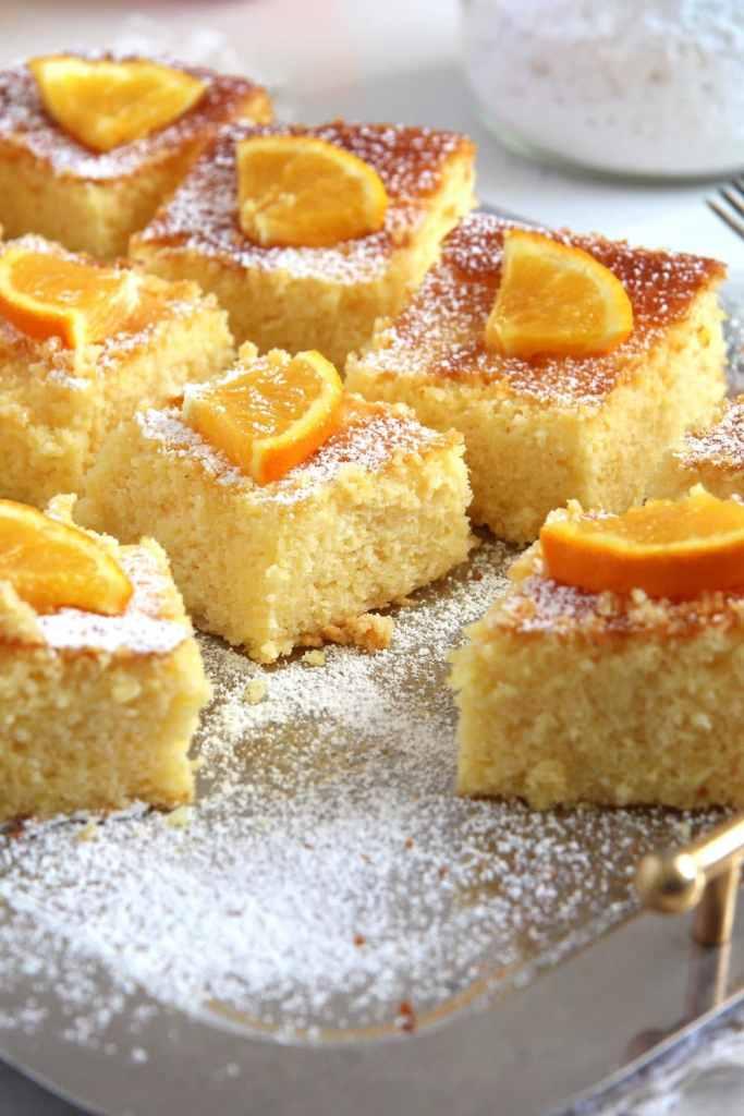 polenta cake 683x1024 Moist Polenta Orange Cake – Malai dulce