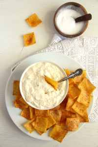 %name polenta chips dip