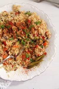 %name rice vegetables romanian