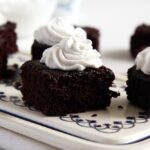 %name Amazing Vegan Cocoa Brownies with Coconut Cream