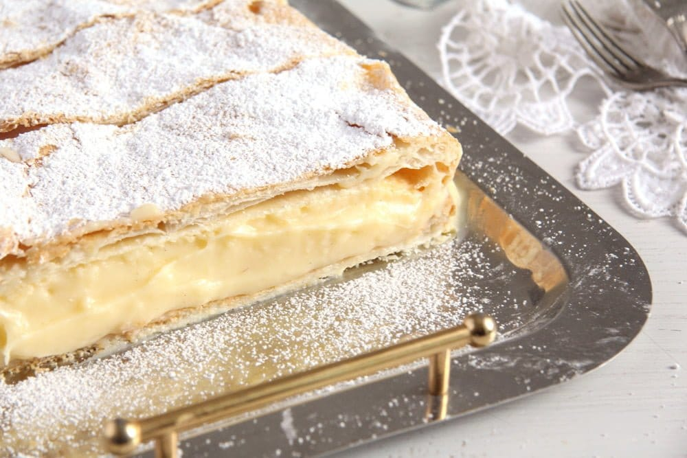cremsnit romanian Vanilla Cream Pie – The Best Romanian Cremsnit