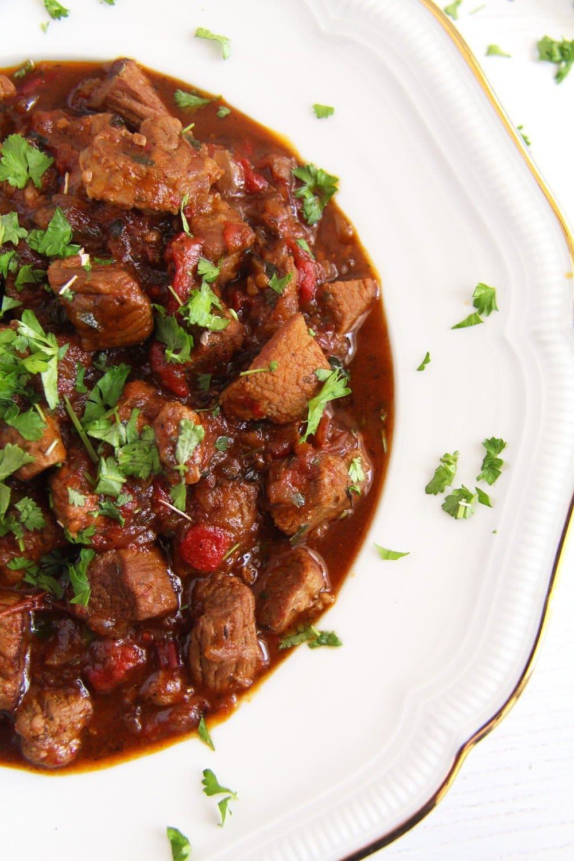 lamb Romanian Lamb Stew – Tocanita de miel