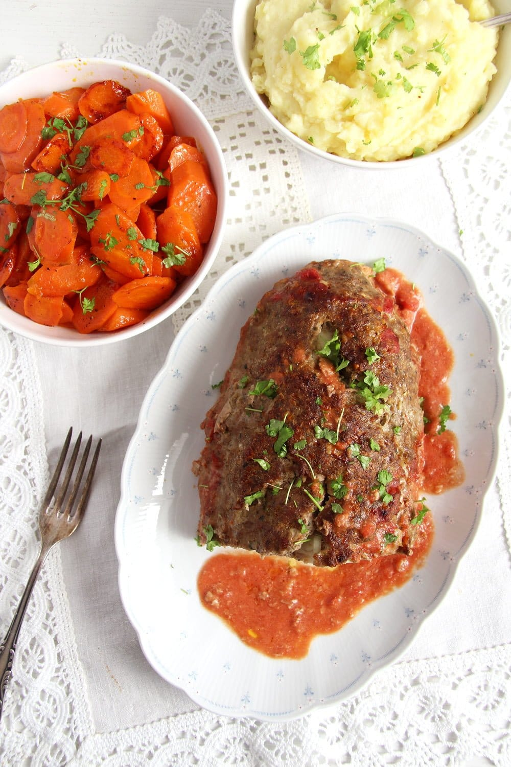 meatloaf romanian Easy Meatloaf with Eggs
