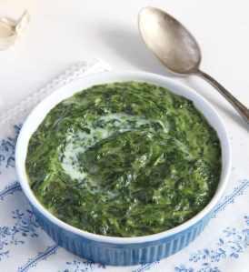%name spinach bechamel creamed
