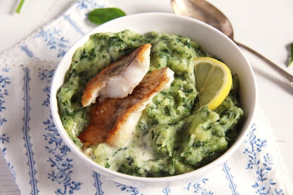 Spinach Potato Mash