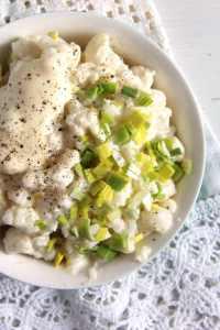 %name cauliflower salad mayonnais