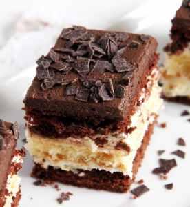 %name layer cake chocolate vanilla