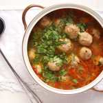 %name Meatball and Vegetable Soup