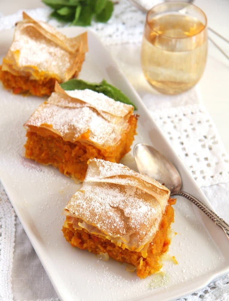 pumpkin pie phyllo Skinny Pumpkin Cinnamon Pie: Vegan, Low Fat and Low Sugar