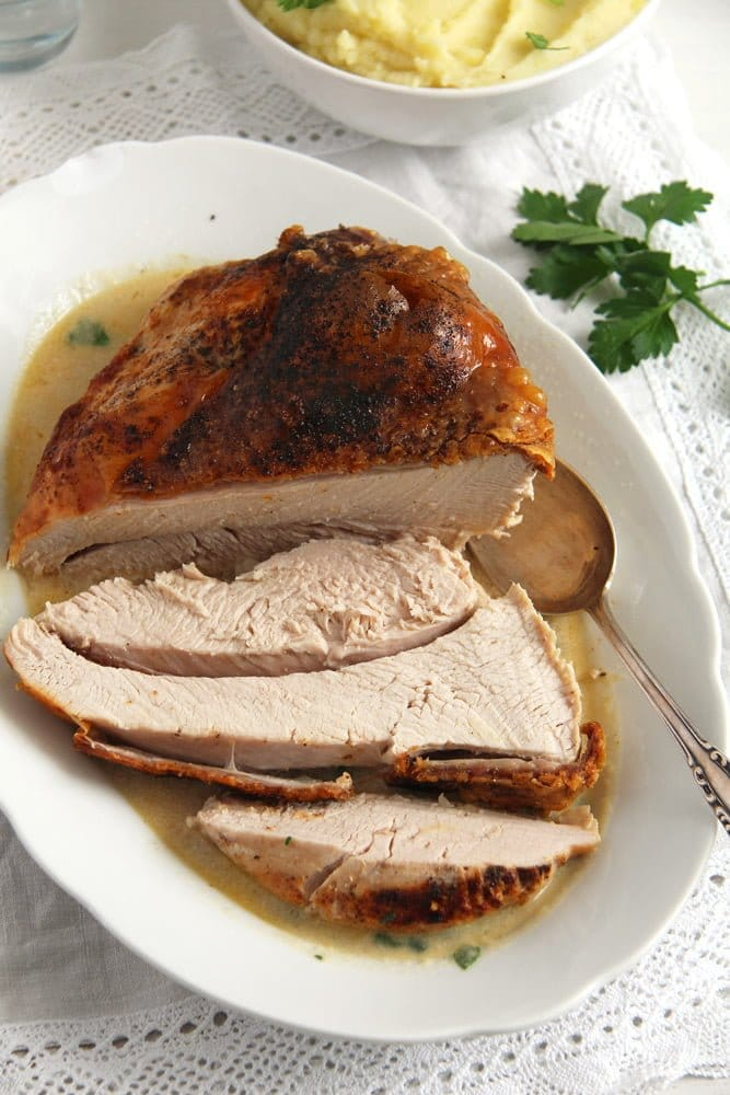 turkey breast oven Basic Recipe for Tender Oven Roasted Turkey Breast