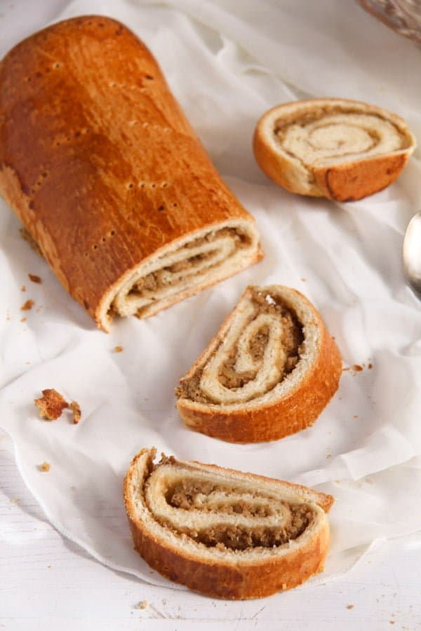 Hungarian Beigli edited 3 Traditional Hungarian Pastry Rolls with Walnut Filling