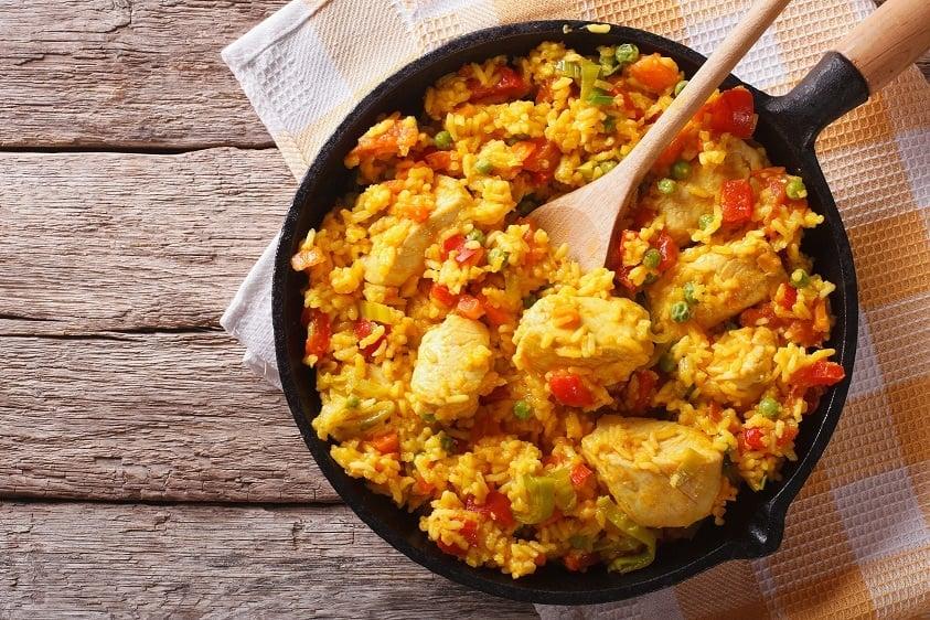 Arroz con pollo rice and chicken recipe from puerto rico rice chicken recipe arroz con pollo rice and chicken recipe from puerto rico forumfinder Gallery