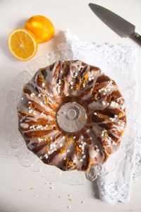 %name Orange Bundt Cake with Chocolate, Raisins and Almonds