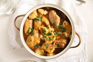 %name Easy Hungarian Chicken Paprikash with Dumplings