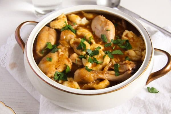 hungarian paprikash 4 Easy Hungarian Chicken Paprikash with Dumplings