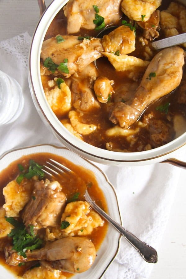 how to make quick chicken and dumplings