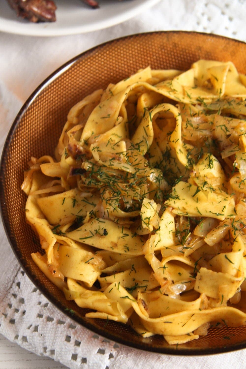 noodles cabbage ed 1 Easy Cabbage Noodles with Sour Cream and Dill