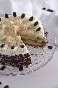 %name Cappuccino Whiskey Cake with Cream Cheese Filling