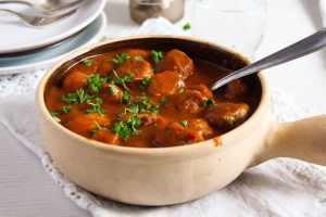 %name Easy Pork Meatballs in Tomato Sauce   Romanian Recipe