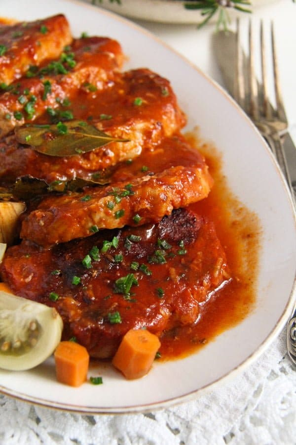 pork roast ed 3 Easy Roasted Pork in Garlic, Tomato and Paprika Sauce
